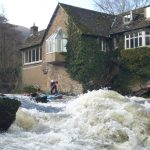 Lisa Boore on the white water